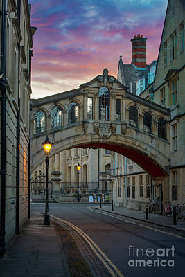 Photograph - Bridge Of Sighs - Oxford by Brian Jannsen