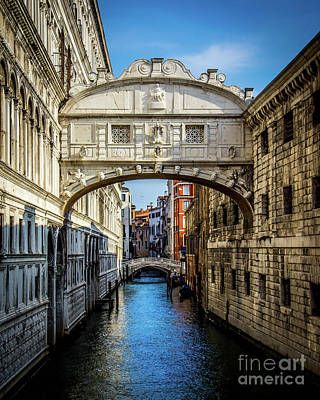 Photograph - Bridge Of Sighs by Perry Webster