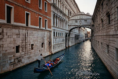 Photograph - Bridge Of Sighs by Songquan Deng