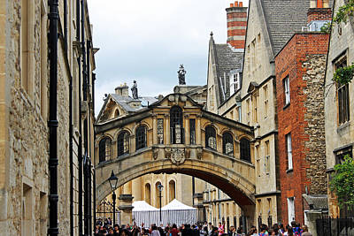 Bridge Of Sighs Art Print