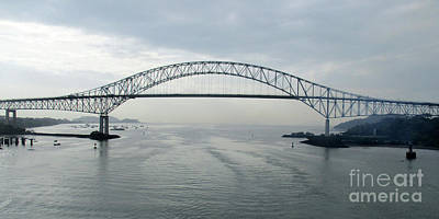 Photograph - Bridge Of The Americas 5 by Randall Weidner
