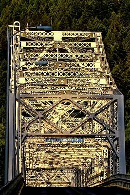 Photograph - Bridge Of The Gods by Albert Seger