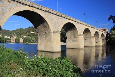 Roquebrun Photograph - Bridge Of The Orb by Nelson Smith
