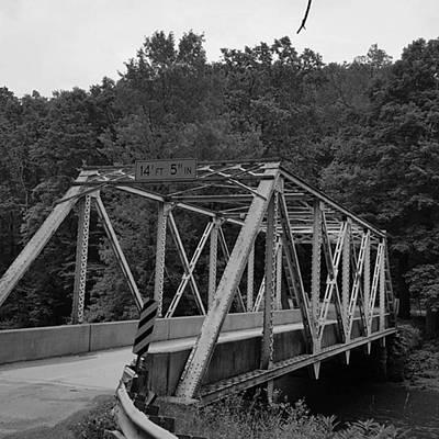 Old Metal Bridge Art Print