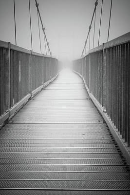 Photograph - Bridge On Grandfather Mountain In North Carolina by Tammy Ray