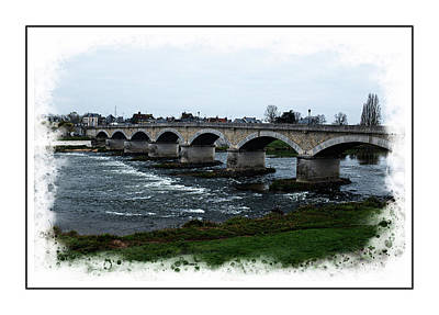 Photograph - Bridge On The Loire by Hugh Smith