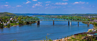 Photograph - Bridge On The Ohio River by Jonny D