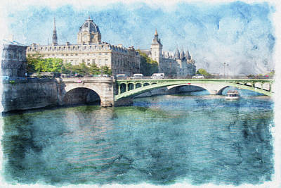 Kim Fearheiley Photography - Bridge on the River Seine by Tom Reynen