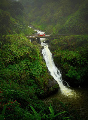 Photograph - Bridge On The Road To Hana by Jade Moon