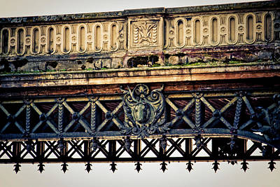 Bridge Ornaments In Germany Art Print