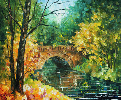 Painting - Bridge Over Anger by Leonid Afremov