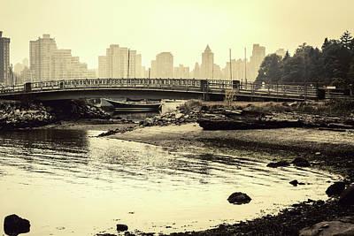 Photograph - Bridge Over Calm by Monte Arnold