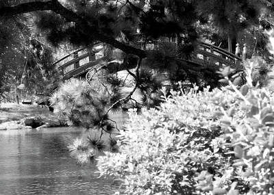 Bridge Over Calm Water Art Print