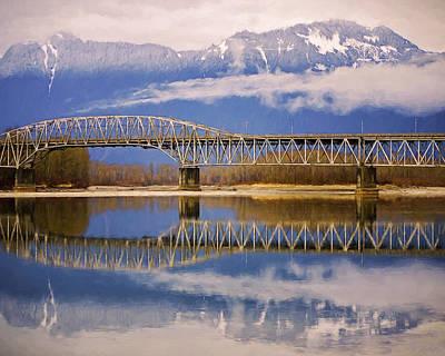 Photograph - Bridge Over Calm Waters by Jordan Blackstone