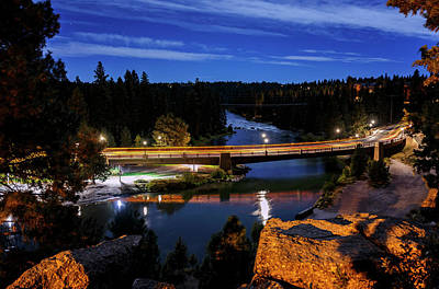 Photograph - Bridge Over Deschutes River by Cat Connor
