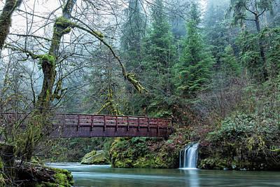 Aloha For Days - Bridge Over Hackleman Creek, No. 2 by Belinda Greb