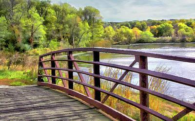 Photograph - Bridge Over High Waters by Cedric Hampton