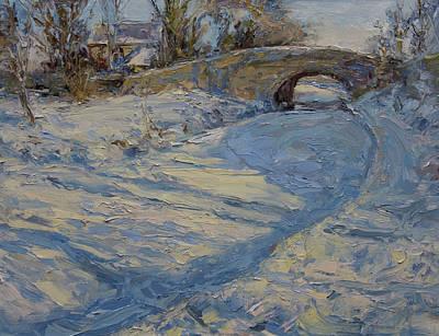 Bridge Over Lancaster Canal Art Print by James Swanson