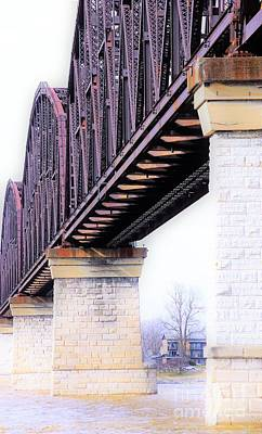 Photograph - Bridge Over Louisville by Merle Grenz