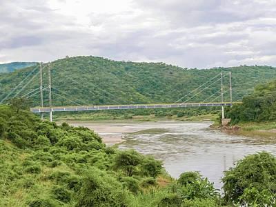 Owls - Bridge over Luangwa river in Zambia by Marek Poplawski