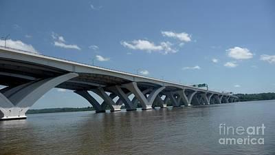 Photograph - Bridge Over Potomac River by Margie Avellino