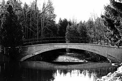 Photograph - Bridge Over River by Debbie Oppermann