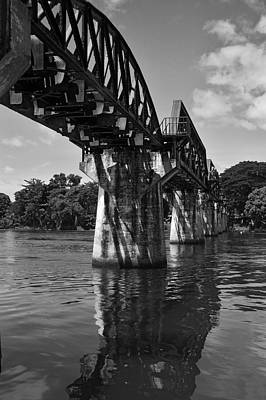 Bridge Over River Kwai Art Print by Kelly Jones