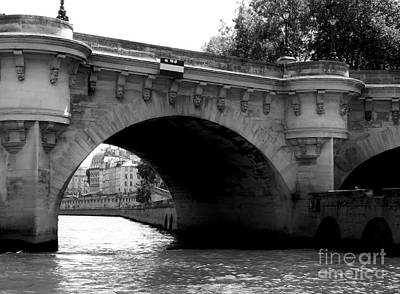 Photograph - Bridge Over River Seine by Amar Sheow
