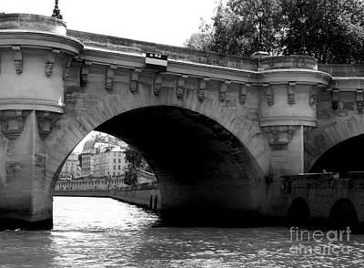 Photograph - Bridge Over River Seine by Amar Sheow
