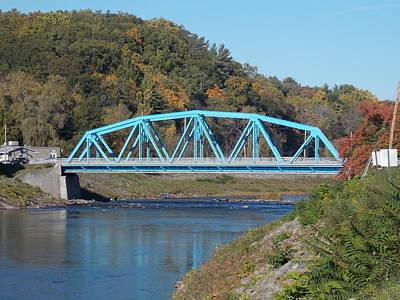 Bridge Over Rondout Creek 2 Art Print