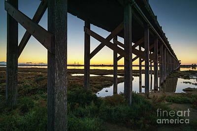 Photograph - Bridge Over San Pedro River Cadiz Spain by Pablo Avanzini