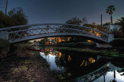 Photograph - Bridge Over Shadows by Richard Omura