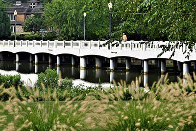 Photograph - Bridge Over Silver Lake - Rehoboth Beach Delaware by Kim Bemis