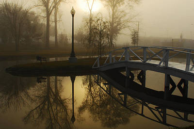 Hattiesburg Photograph - Bridge Over Still Waters by Wayne Archer