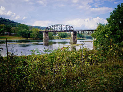 Photograph - Bridge Over The Allegheny by Linda Unger