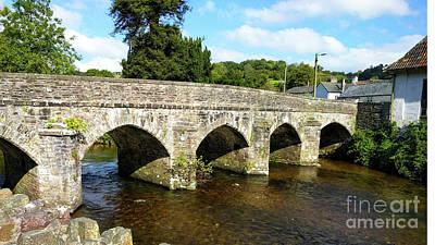 Photograph - Bridge Over The Barle by Stuart Attwell