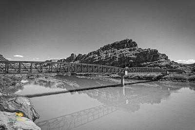 Photograph - Bridge Over The Colorado River by Jim Thompson