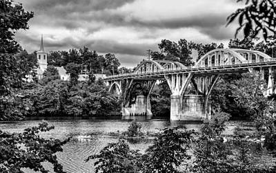 Digital Art - Bridge Over The Coosa by Greg Sharpe