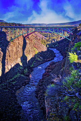 Photograph - Bridge Over The Crooked River Gorge by Lynn Bauer