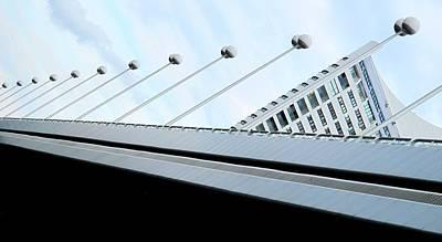 Photograph - Bridge Over The Danube by Ian  MacDonald