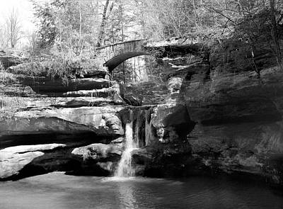 Photograph - Stone Bridge Over The Falls by William Wetmore