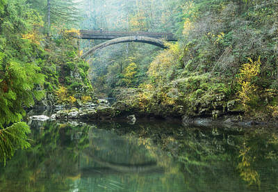 Photograph - Bridge Over The Lewis by Angie Vogel