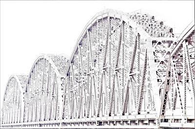 Photograph - Bridge Over The Ohio by Merle Grenz
