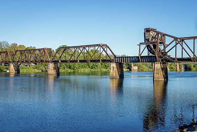 Photograph - Bridge Over The Savanna River by Menachem Ganon