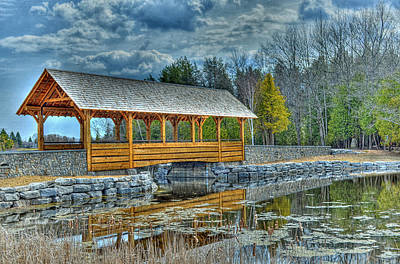 Photograph - Bridge Over The Thunder Bay River by Rodney Campbell