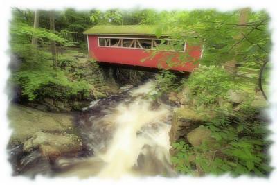 Bridge Over Troubled Water Art Print by Karol Livote