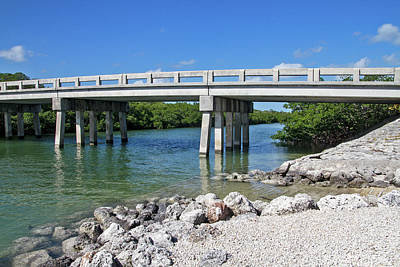 Photograph - Bridge Over Untroubled Water by Bob Slitzan