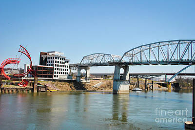 Photograph - Gateway Boulevard Bridge by Pamela Williams