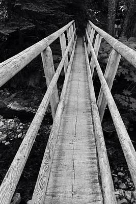 Photograph - Bridge Perspective  by Susan Detroy