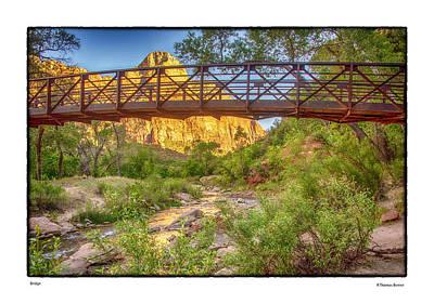 Photograph - Bridge by R Thomas Berner